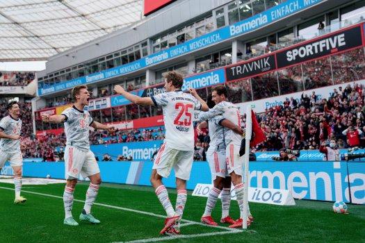 A Bayern egy félidő alatt elintézte a Leverkusent