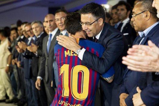 Bartomeu: Rossz döntés volt Lionel Messi elengedése
