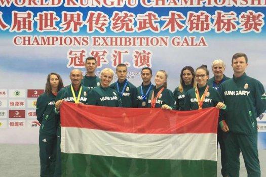 Három magyar arany a Kung-fu vb-n