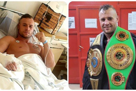 Törött kézzel lett világbajnok Klasz Árpád bokszoló