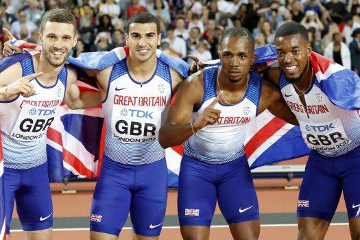 Veszélyben a brit váltó olimpiai ezüstérme