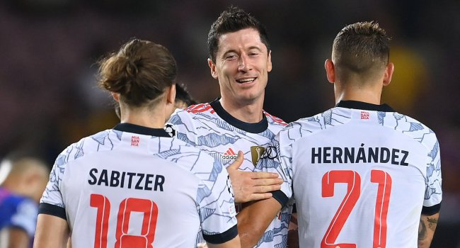 A Bayern idegenben mért nagy zakót a Barcelonára