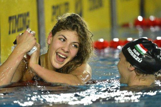 Szilágyi Liliána Hosszú Katinka előtt úszott be 200 pillangón